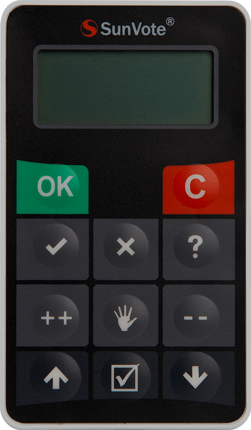Audience Response System Interactive Voting Keypad Student