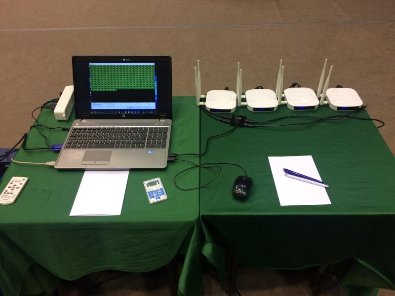 wireless voting system